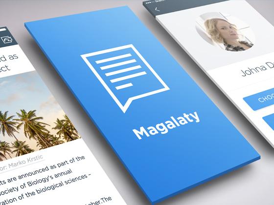 Magalaty – Writers app